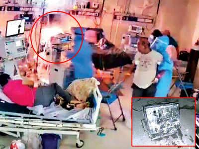 Did Dhaman-1 ventilator cause SSG fire?
