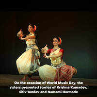 Phagre sisters present Odissi in Indore