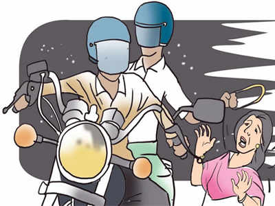 Bikers snatch man's gold chain at Sattadhar