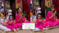 Shilpa Shetty Kundra promises to be 'best friends forever from the heart' with daughter Samisha, shares adorable video twinning in pink