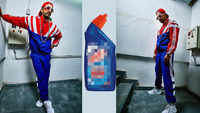 Ranveer Singh compares his look to toilet cleaner