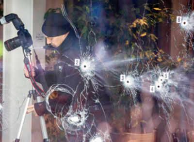 Police shoot dead suspected Copenhagen killings gunman