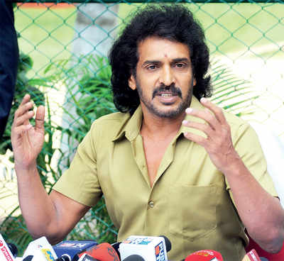 Uppi's biggest role will start without a script