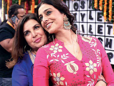 Not without their BFF for Tabu and Farah Khan