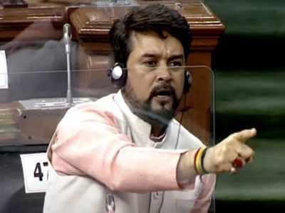 Lok Sabha faces two adjournments over Anurag Thakur's remark