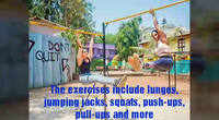 Try the playground workout to stay fit