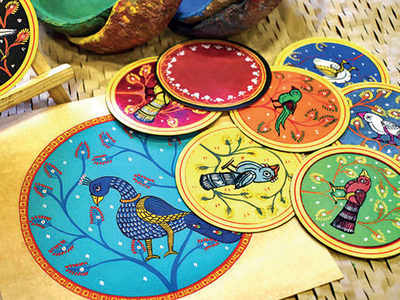 PLAN AHEAD: The colours of ganjifa