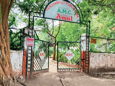 AMC to fine Amul if gardens ill-maintained