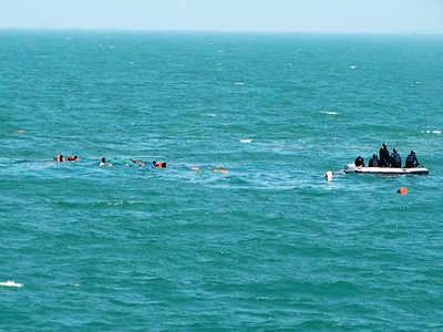 Boat capsizes off Mumbai coast, six people rescued, one missing