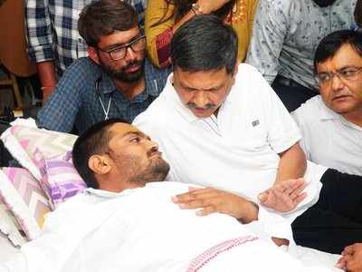 Hardik Patel's condition worsens, shifted to hospital