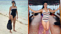 Gul Panag flaunts her swimsuit collection!
