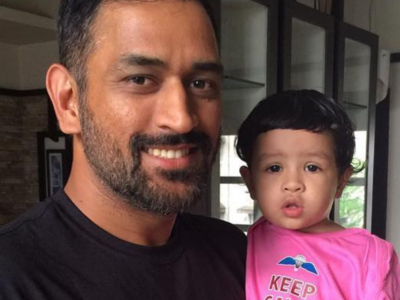 MS Dhoni's daughter Ziva gets rape threats for dad's failure in CSK vs KKR