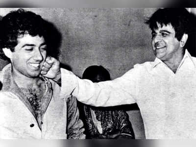 Heroic moments with Sunny Deol and Dilip Kumar