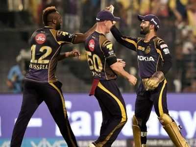IPL 2018: Kolkata Knight Riders vs Delhi Daredevils: Dinesh Karthik's KKR beat Gautam Gambhir's DD by 71 runs at Eden Gardens
