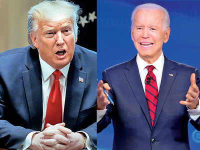 It's Trump vs Biden...vs the coronavirus