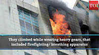Worli fire: Bravehearts climb 33 floors to douse flames