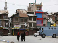Curfew enters 32nd day in Kashmir valley