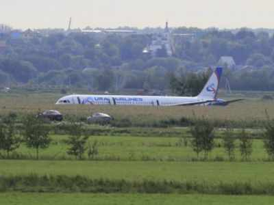 Russian passenger plane makes 'miracle' landing in cornfield