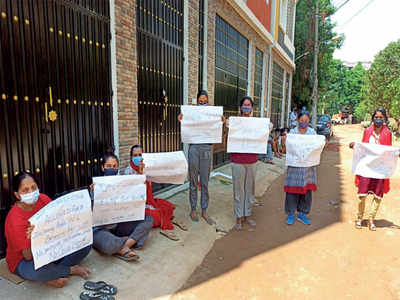 Residents say no to quarantine facility in Hebbal