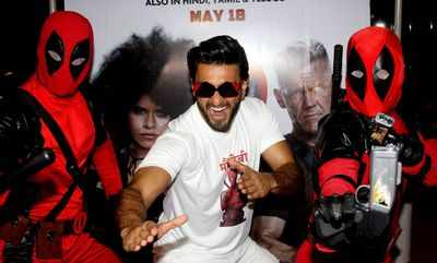 Deadpool 2: Ranveer Singh enjoyed using curse words for the Hindi version of Ryan Reynolds' superhero film