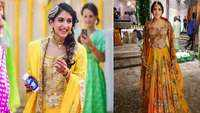Ambani ladies are new trend setters! Shloka Mehta and Radhika Merchant stun in yellow lehenga