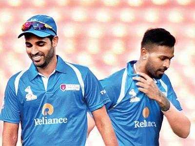India ODI squad: Hardik Pandya, Shikhar Dhawan, Bhuvneshwar Kumar back, Kedar Jadhav out