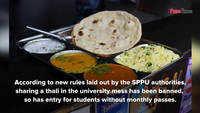 SPPU bans thali sharing on campus