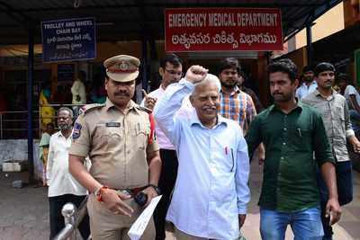 Plot to kill PM Modi: Pune cops arrest revolutionary writer Varavara Rao from Hyderabad