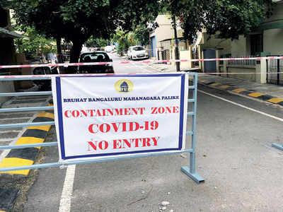 Bommanahalli has max micro containment zones
