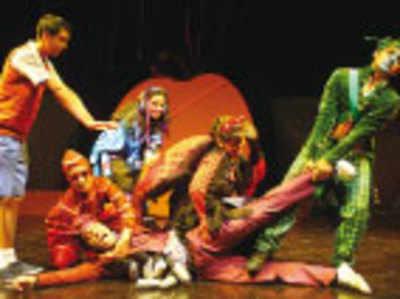 Puppets, mythology and folk dance