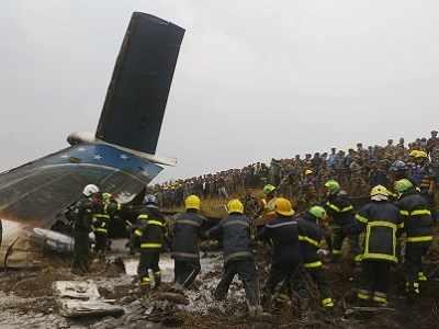 Nepal: US-Bangla Airlines plane crashes in Kathmandu, leaves 40 dead