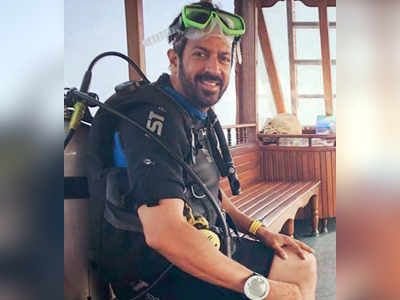 Soaking up the sun with Kabir Khan in Maldives