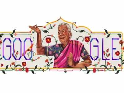 Google pays tribute to Indian actress Zohra Sehgal with a special doodle