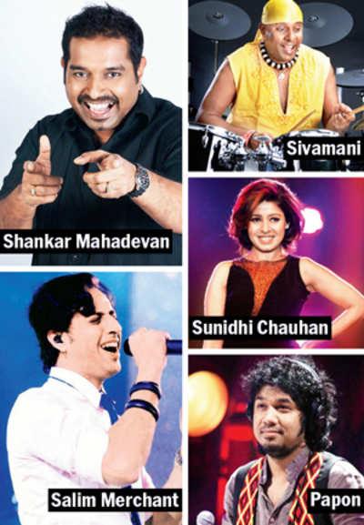 Now, musicians turn actors