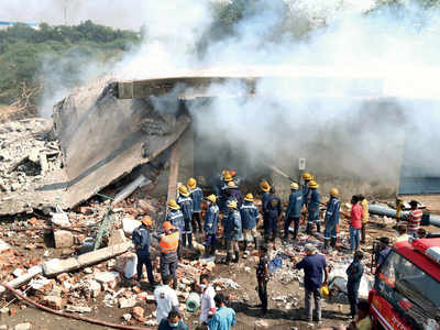 12 killed after boiler in chemical godown explodes in Gujarat