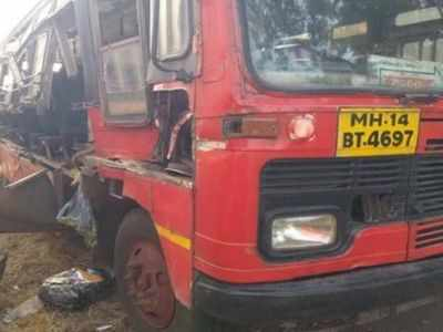 One passenger killed, 16 injured in MSRTC bus accident on Mumbai-Pune expressway