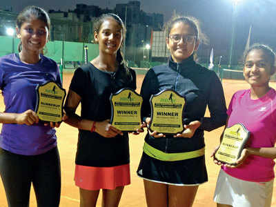 Vidhi's grand double in U-16 category