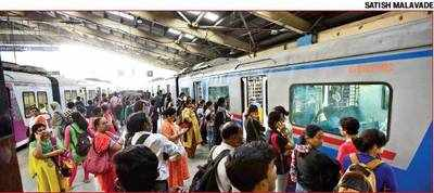 Longer halts given to AC locals delay regular fast train, say commuters