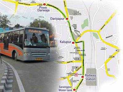 AMC to survey all BRTS bus stops for troubleshooting