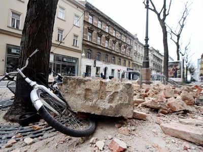 Quake shakes Croatia, damaging buildings
