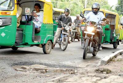 BBMP on a pothole patrol