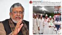 Giriraj Singh didn't even organise Holi event: Sushil Modi on Union minister's 'iftar' tweet