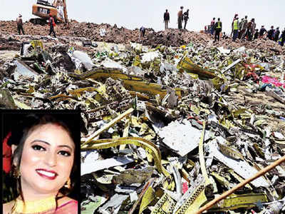 'Will call you when I land,' texted newly-wed Shikha Garg, before flight ET 302 crashed