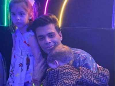 Karan Johar hilariously reveals his son Yash called him 'Karan Joker'