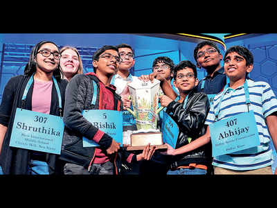 7 Indian-origin kids among 8 winners of US Spelling Bee