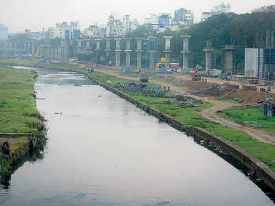 Metro pillars at river may lead to flooding: Report