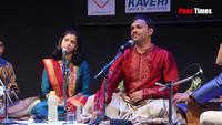 Sanjeev Abhyankar's performance at Nupur Naad festival