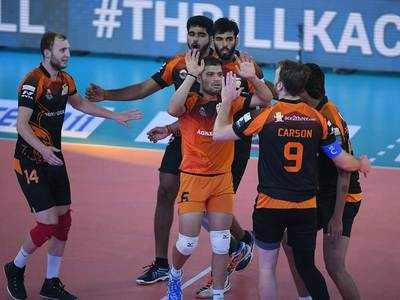 Pro Volleyball League: Black Hawks Hyderabad keep playoff chances alive after beating U Mumba Volley