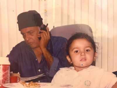 Happy Birthday Mahesh Bhatt: Alia Bhatt and Pooja Bhatt share adorable pictures to wish their dearest daddy