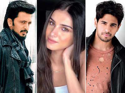 Sidharth Malhotra, Riteish Deshmukh, Tara Sutaria in Milap Zaveri's next